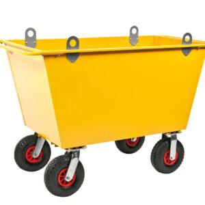 Trolley voor afval - Inhoud 300 l
