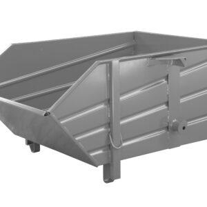 Kraanbak of bouwstofcontainer van geprofileerd plaatstaal