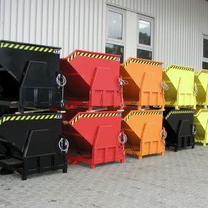 Kiepcontainer voor zwaardere lasten - Cap 0,50 m³