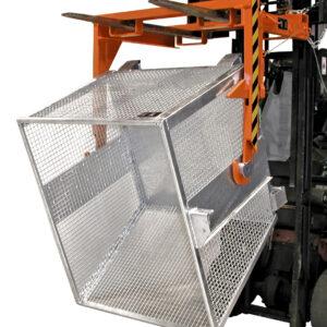 Gaascontainer - Cap. 0,90 m³ - voor lichte goederen