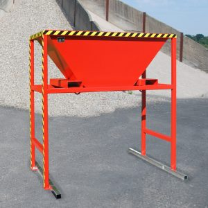 Mobiel inzetbare vultrechter voor Big-Bag en containers