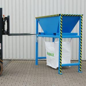 Staande vultrechter voor Big-Bag en containers