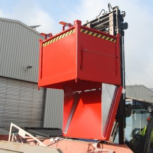 Bodemklepcontainer FB - Capaciteit 0,50 m³ - de goedkopere versie en een ideale oplossing voor de inzameling van recycleerbare stoffen