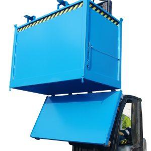 Bodemklepcontainer FB - Capaciteit 0,75 m³ - de goedkopere versie en een ideale oplossing voor de inzameling van recycleerbare stoffen