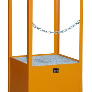 Stapelpallet voor vaten - 1 X 200 l vat