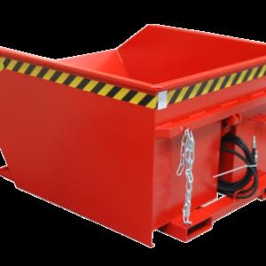 Kiepcontainer met lage bouwhoogte - Cap 0,75 m³