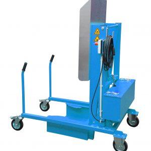 Kiepsysteem electrohydraulisch 230 V voor afvalcontainers