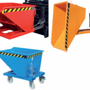 Lage kiepcontainer - 0,75 m³