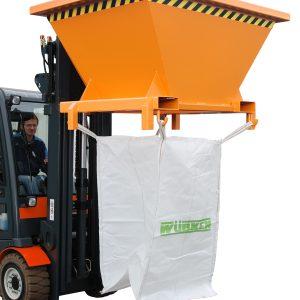 Vultrechter voor Big-Bag en containers met heftruck