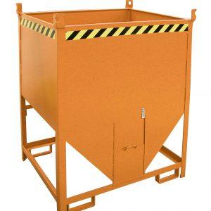 Silocontainer - 0,75 m³ - met de hand te ontgrendelen sluiting vooraan