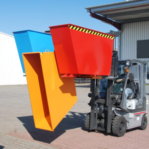 Trio kiepcontainer - 3 x 0,60 m³