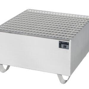 Opvangbak RVS - 1 X 200 l vat