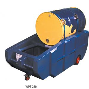Verrijdbare PE-opvangbak voor 200 l vat