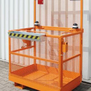 Werkkooi - Nederlandse versie - heftruck aan brede zijde