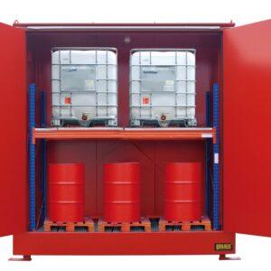 Brandwerende container