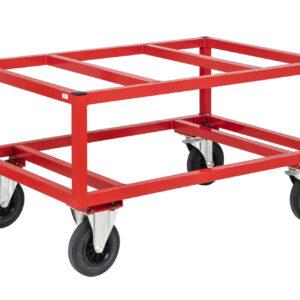 Onderwagen voor pallets - Hogere versie - 1200 x 1000 mm