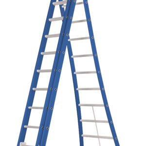 DAS Atlas 'Blue' 3-delige ladder
