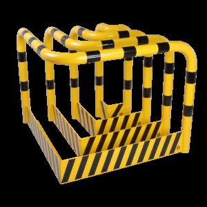Antibots hoekbescherming met onderrijbescherming