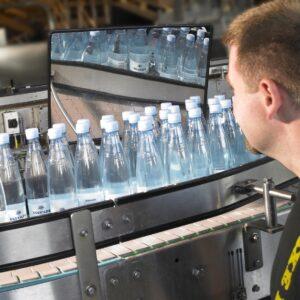 Observatiespiegel van productielijnen