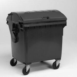 Kunststof afvalcontainer 1100 liter