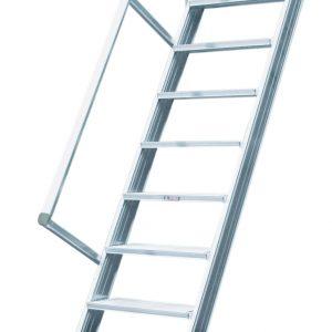 Vaste trap zonder platform - 60°