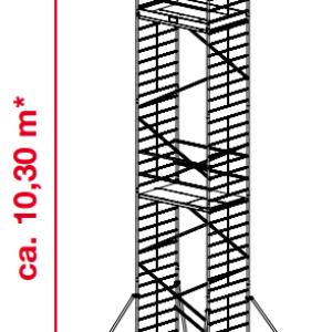 Mobiele rolsteiger ProTec XXL - platformhoogte: 8300 mm