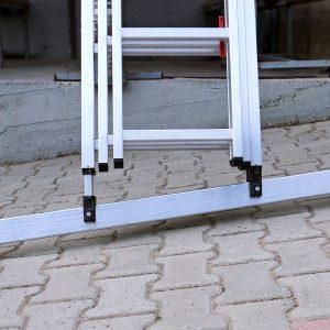 Smart Level Ladder driedelig aluminium