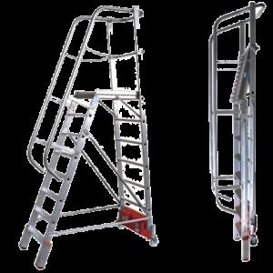 Vario Compact Platformladder - Max. vloerbreedte 2070 mm