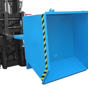 Spaandercontainer SGU met capaciteit tussen 0,30 m³ en 2 m³