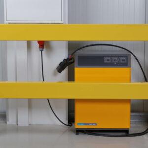 Moduleerbare veiligheidsrailing - Palen (Uitneembare railing)