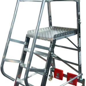 Vario Compact platformladder - Max. vloerbreedte 0820 mm
