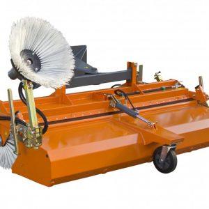 Veegmachine voor heftruck