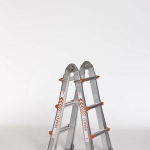 4 x 3 sporten telescopische ladder