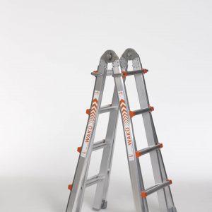 4 x 4 sporten telescopische ladder