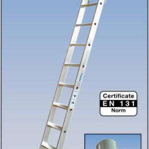 Stellingladder met T-Rail systeem