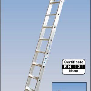 Stellingladder met geïntegreerde toprail